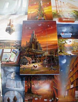 Les merveilleux tableaux exposés au Lady Raymonde