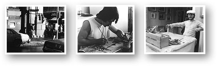 photos d'archives Laurent Lafleur à ses début