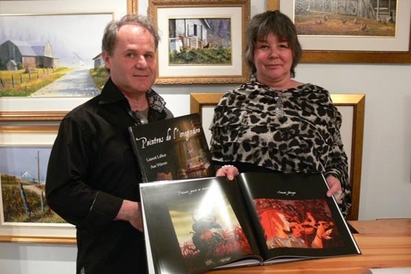 Les peintres de l'imaginaire Laurent Lafleur et Ann Warren