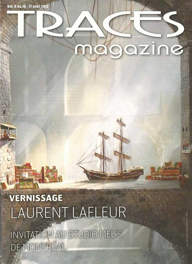 Page couverture - Traces Magazine août 2012