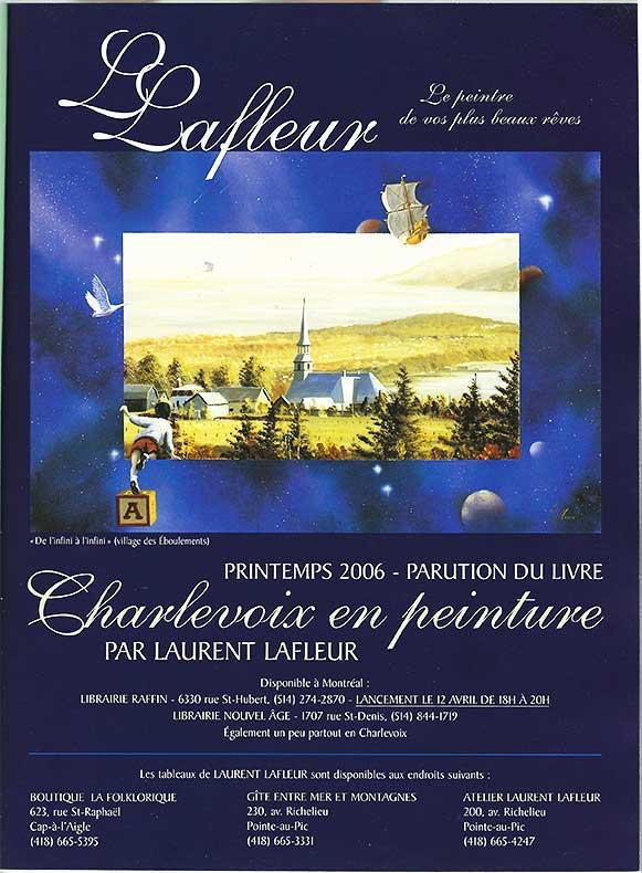 MagazinArt - publicité Laurent Lafleur 2006 printemps 2006 no 71